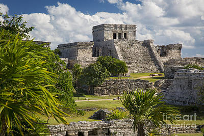 Photograph - Mayan Temple - Tulum by Brian Jannsen