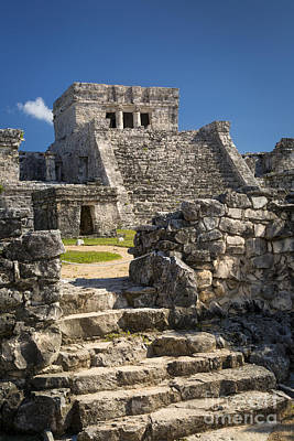 Photograph - Mayan Temple Ruins by Brian Jannsen