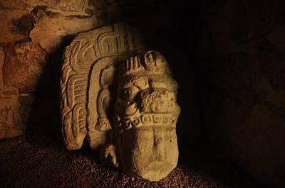 Photograph - Mayan Tomb by Tomas Zohar
