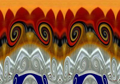 Digital Art - Mayan Vacation by Donna Blackhall