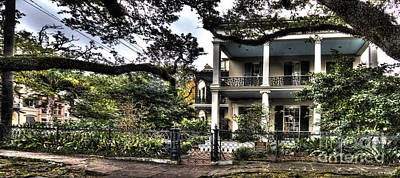 Anne Rice Photograph - Mayfair Home On First Street by PhotoLily Photography