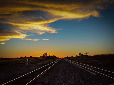Mayfield Photograph - Mayfield Kansas  by Larry Pacey