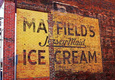 Photograph - Mayfields Ice Cream by Paul Mashburn