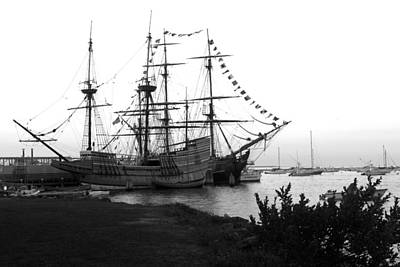 Art Print featuring the photograph Mayflower II by John Hoey