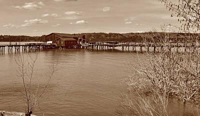 Photograph - Maygar Fish Dock by Ansel Price