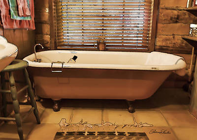 Maynard Dixon Digital Art - Maynards Tub 2 by Patricia Stalter