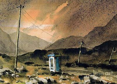 Mayo Painting - Mayo Links Worldwide by Val Byrne
