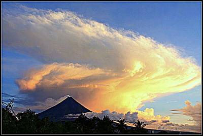 Mayon Photograph - Mayon Volcano. by Abner Corpus