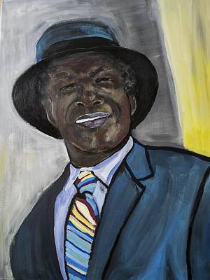 Mayor For Life  Art Print by Luther Wright