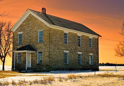 Photograph - Maysville School by Bonfire Photography