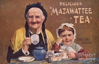 Mazawattee 1890s Uk Tea Art Print by The Advertising Archives