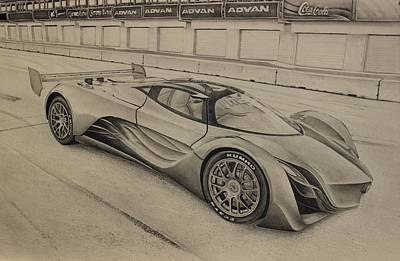 Concept Drawing - Mazda Furia by Gary Reising