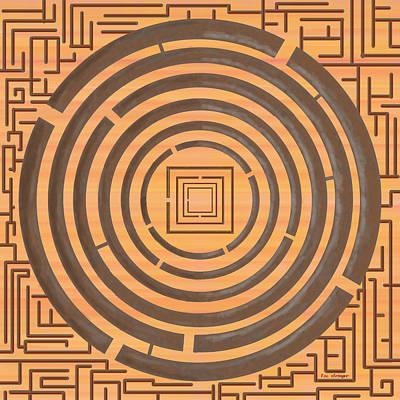 Maze 2 Art Print by Tim Stringer