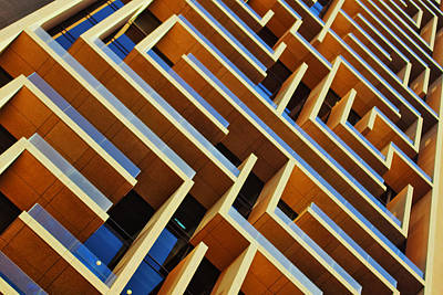 Photograph - Maze Building Dubai by John Swartz