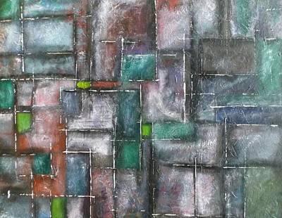 Maze Art Print by Nicholas Juhl