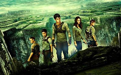Maze Runner 6 Art Print by Movie Poster Prints