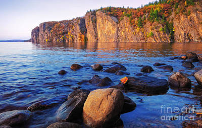 Photograph - Mazinaw Rock At Dusk by Charline Xia