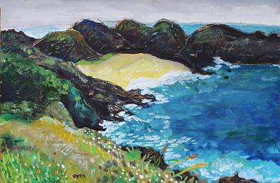 Mazunte Painting - Mazunte Beach Oaxaca by Andrew Osta