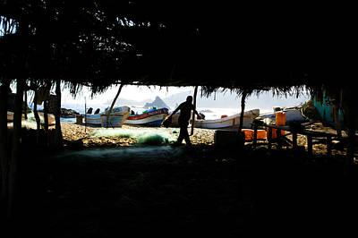 Mazunte Photograph - Mazunte Fishing Boats by Emilio Lopez