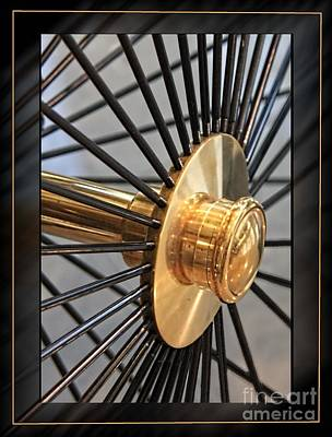 Wire Wheels Photograph - Mb 13 by Tom Griffithe