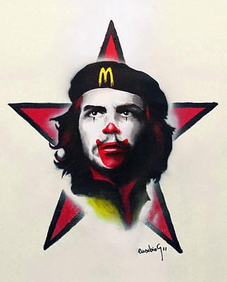 Communism Mixed Media - Mc Che Guevara by Eusebio Guerra
