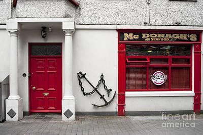 Digital Art - Mc Donagh's Seafood by Danielle Summa