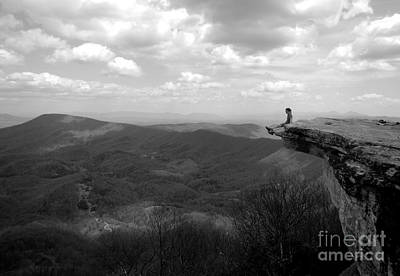 Photograph - Mcafee Knob Appalachian Trail by Glenn Gordon
