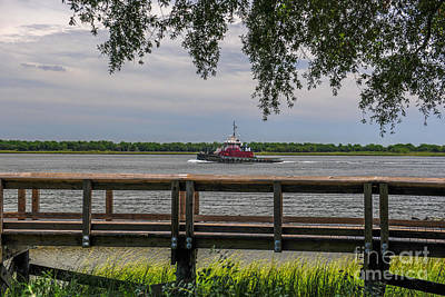 Photograph - Mcallister Tug Boat by Dale Powell