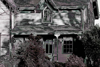 Photograph - Mcalmond House by Marie Jamieson