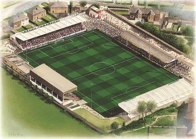 Scarborough Painting - Mccain Stadium - Scarborough by Kevin Fletcher