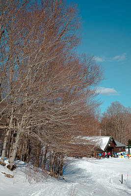 Photograph - Mccauley Mountain Ski Area IIi- Old Forge New York by David Patterson