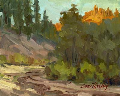 Painting - Mcclary Art Farm by Diane McClary