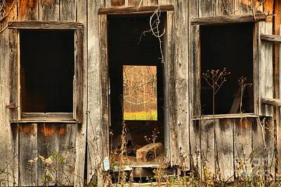 Photograph - Mcclung's Grist Mill Shack by Adam Jewell