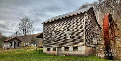 Photograph - Mcclung's Mill In Monroe County by Adam Jewell