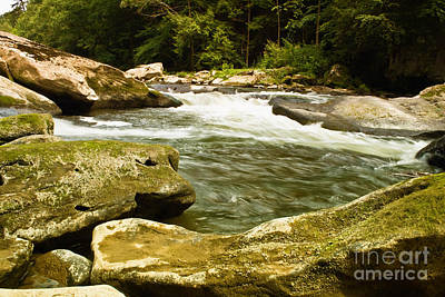 Stream Photograph - Mcconnells Mills Rocks 4 by Pittsburgh Photo Company