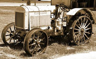 Photograph - Mccormick Deering Tractor by John Black