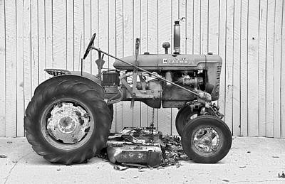 Photograph - Mccormick Farmall by Craig T Burgwardt