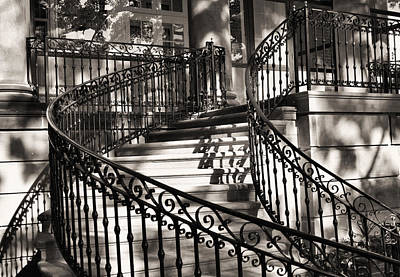 Photograph - Mccormick Mansion Staircase by Ely Arsha
