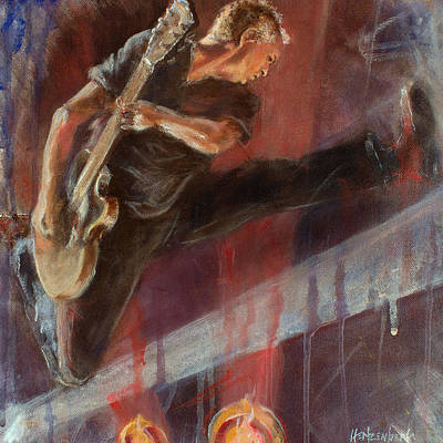 Pearl Jam Painting - Mccready by Josh Hertzenberg