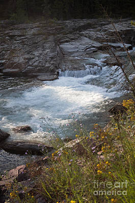 Photograph - Mcdonald Creek - Glacier Np by Cindy Murphy - NightVisions