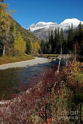 Photograph - Mcdonald Creek by Cindy Murphy - NightVisions
