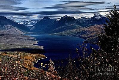 Photograph - Mcdonald Overlook by Adam Jewell