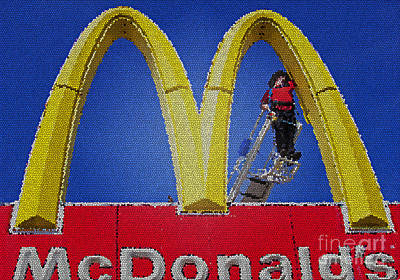 Photograph - Mcdonalds by Jim West