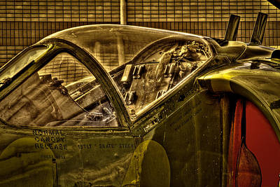 Cockpit Photograph - Mcdonnell Douglas Av-ac Harrier by David Patterson