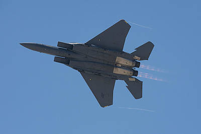 Photograph - Mcdonnell Douglas F 15e Strike Eagle 2 by Richard J Cassato