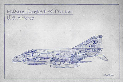 Mcdonnell F-4c Phantom Art Print by Barry Jones