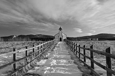 Photograph - Mcdougall Church by Inge Riis McDonald