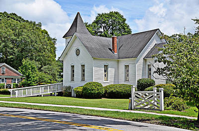 Photograph - Mcdowell Presbyterian II by Linda Brown