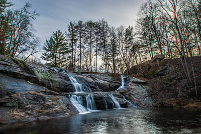 Photograph - Mcgalliard Falls Hdr by Randy Scherkenbach