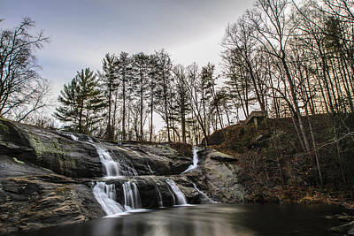 Photograph - Mcgalliard Falls by Randy Scherkenbach